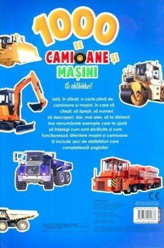 1000 de camioane si masini cu abtibilduri - Carti  -