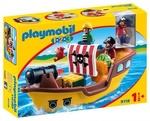 123 barca piratilor - Jucarii Playmobil -