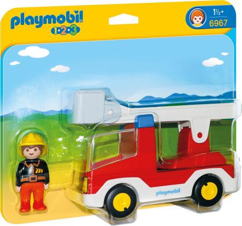 123 Camion cu Pompier - Jucarii Playmobil -