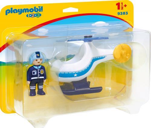 123 Elicopter De Politie - Jucarii Playmobil -