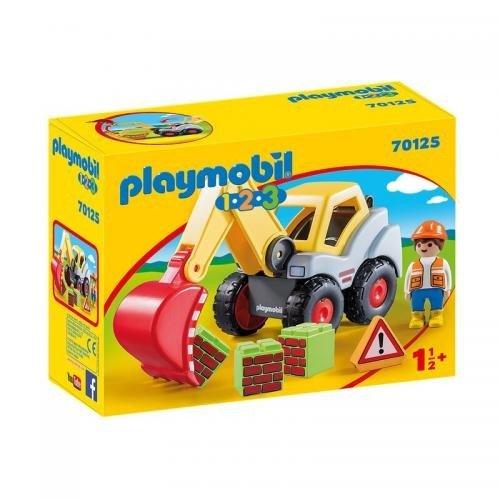 123 Excavator Cu Brat Mobil - Jucarii Playmobil -