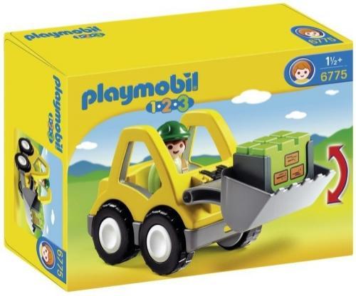 123 Excavator - Jucarii Playmobil -