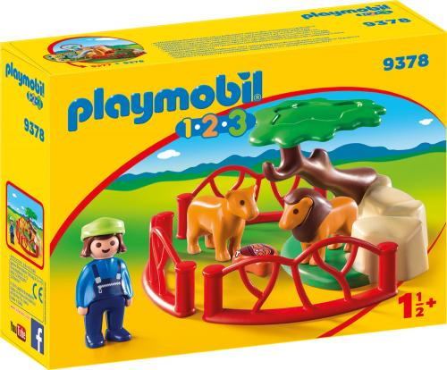 123 Tarc Lei - Jucarii Playmobil -