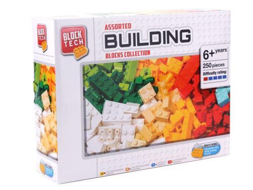 250 cuburi asoratate pentru construit - Jucarii copilasi - Jucarii de constructie