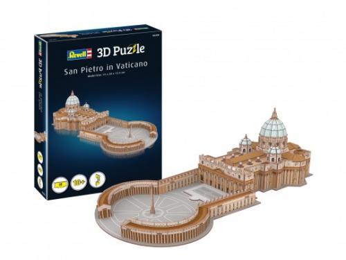 3D Puzzle St Peters Basilica (Vaticano) - Jocuri pentru copii - Jocuri cu puzzle