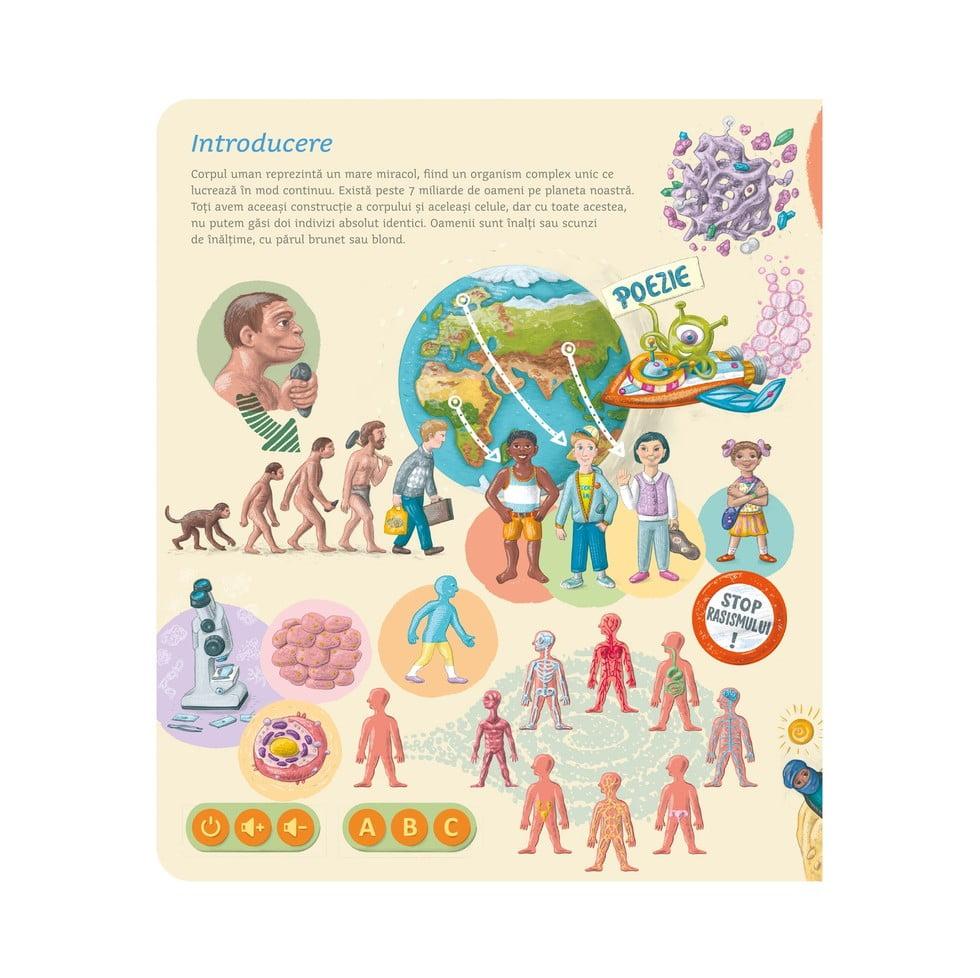 carti pentru copii corpul uman