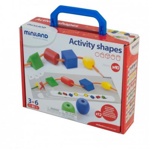 Activitati Educative - Forme Geometrice Miniland - Jucarii copilasi - Jucarii educative bebe
