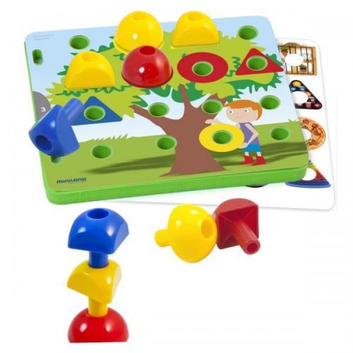 Activitati Educative - Mozaic Miniland - Jucarii copilasi - Jucarii educative bebe
