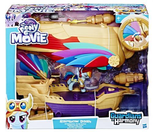 Aeronava de pirati luptatorul plutitor my little pony movie - Jucarii copilasi - Figurine pop