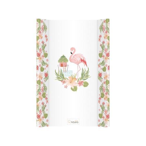 Albero Mio salteluta de infasat dura 70 cm - 004 Hawaii(Flamingo) - Camera bebelusului - Masa infasat