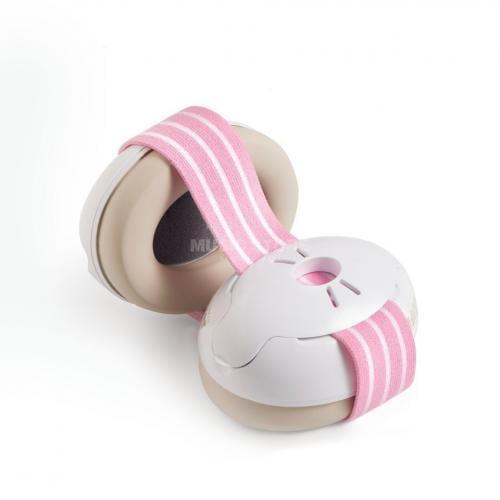 Alpine Muffy Baby Casca impotriva zgomotului - antifon - roz - Articole pentru mamici -