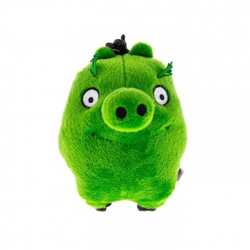 Angry Birds: Plus cu agatatoare 14cm - The Pigs - Jucarii copilasi - Jucarii din plus