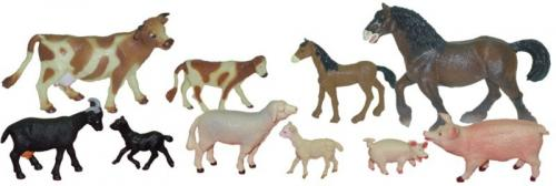 Animale Domestice Cu Puii Set De 10 Figurine - Miniland - Jucarii copilasi - Figurine pop