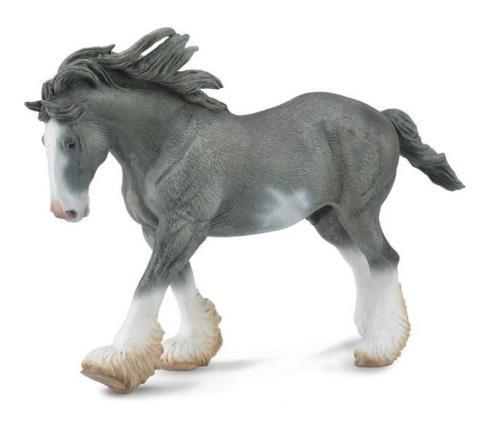 Armasar Clydesdale Negru - Jucarii copilasi - Figurine pop