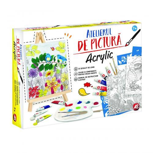 Atelierul de pictura acrilica - Jucarii copilasi - Toys creative