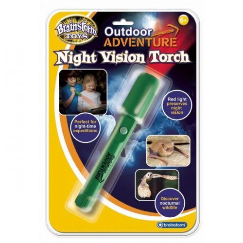Aventuri in aer liber- Lanterna de noapte Brainstorm Toys E2032 - Jucarii copilasi - Jucarii educative bebe