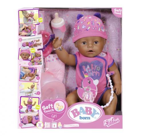 BABY born-Papusa etnica interactiva - Papusi ieftine -