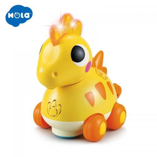 Baby dino stegosaurus cu sunete si lumini - Jucarii bebelusi -