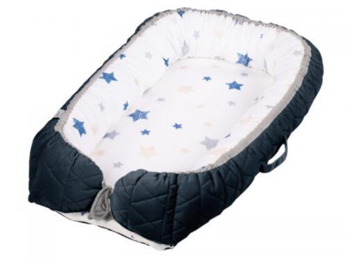 Baby Nest Klups Albastru Marin V105 - Camera bebelusului - Baby nest