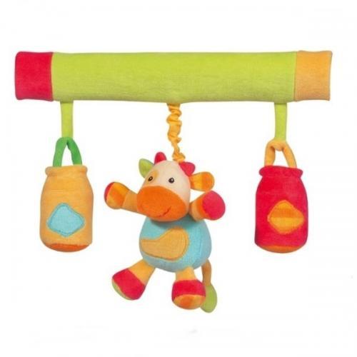 Bagheta Muzicala Cu Iepuras - Brevi Soft Toys - Jucarii bebelusi -