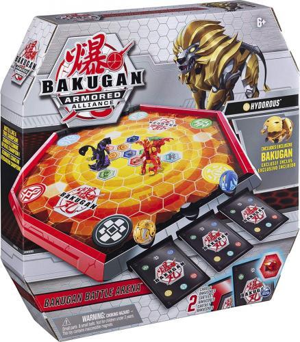 Bakugan arena de lupta armored alliance cu figurina hydorus inclusa - Jocuri pentru copii - Jocuri societate