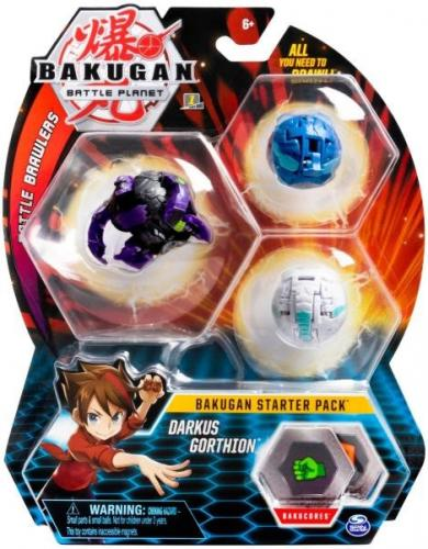 Bakugan pachet start darkus gorthion - Jocuri pentru copii - Jocuri societate