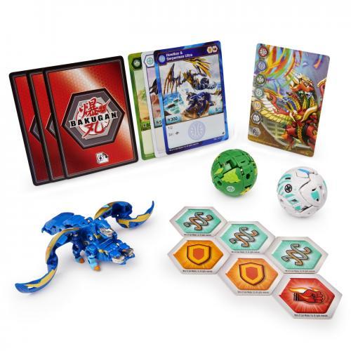 Bakugan s2 pachet de start howlkor serpenteze ultra - Jocuri pentru copii - Jocuri societate