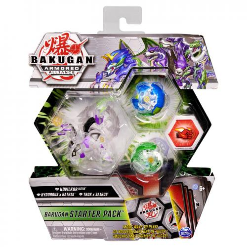 Bakugan s2 pachet de start trox hydorous si howlkor ultra - Jocuri pentru copii - Jocuri societate