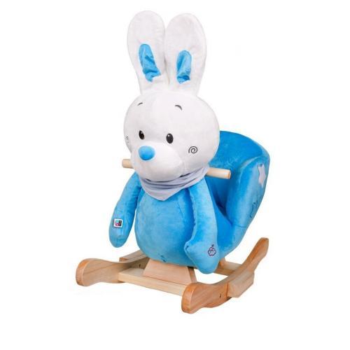 Balansoar cu melodii playto iepuras albastru - Camera bebelusului - Leagane si balansoare