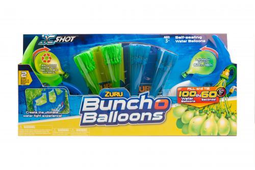 Baloane apa Bunch O Balloons - Rapid Fill -cu 2 lansatoare - Jucarii copilasi - Jucarie interactiva