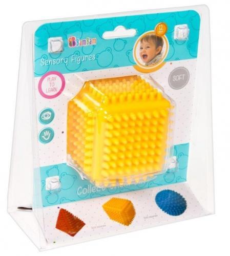 BamBam jucarie senzoriala - Cub - Jucarii bebelusi -