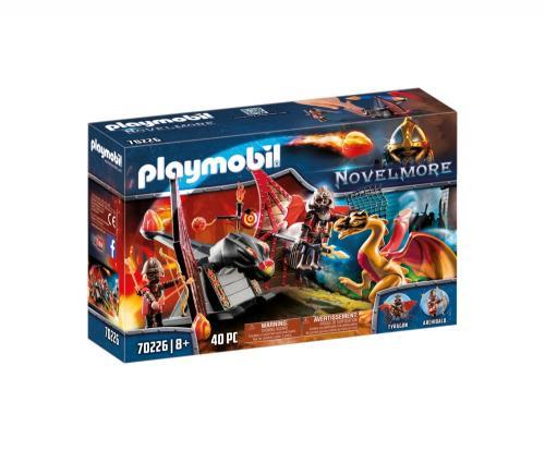Banditii Burnham Si Dragon - Jucarii Playmobil -