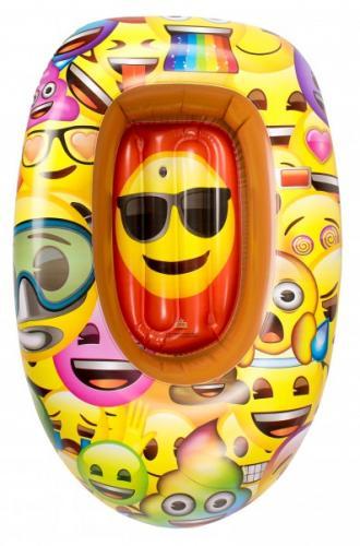 Barca gonflabila pentru copii Saica 90cm Emoji - Jucarii copilasi - Jucarii gonflabile