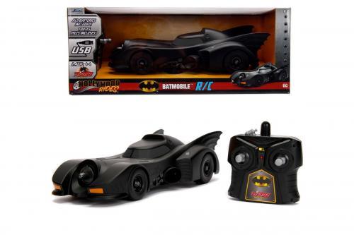 Batman masinuta radiocomandata justice league 1989 - Jucarii copilasi - Avioane jucarie