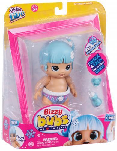 Bebelusi Little Live Babies cu functii FULG DE NEA - Papusi ieftine -