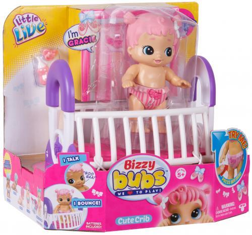 Bebelusi Little Live Babies cu functii si accesorii GRACIE - Papusi ieftine -