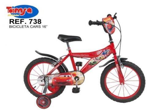 Bicicleta 16 Cars - Plimbare bebe - Bicicleta copii