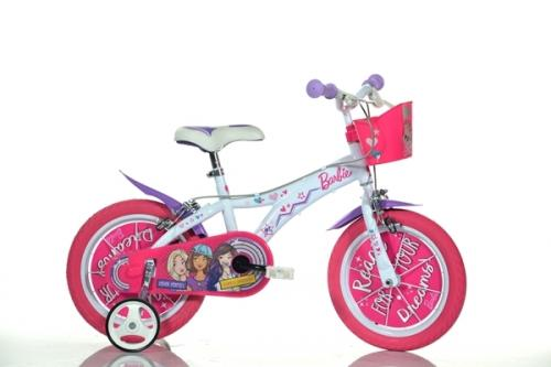 Bicicleta Barbie 16 - Dino Bikes - Plimbare bebe - Bicicleta copii