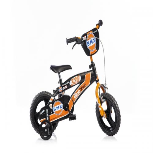 Bicicleta Bmx 12 - Dino Bikes - Plimbare bebe - Bicicleta copii