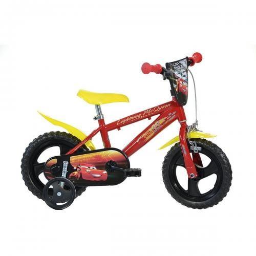 Bicicleta Cars 3 12 - Dino Bikes-412CS - Plimbare bebe - Bicicleta copii