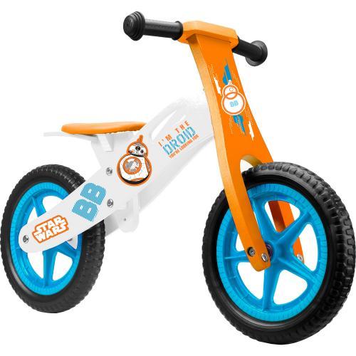 Bicicleta din lemn fara pedale 12 Star Wars Seven SV9911 - Plimbare bebe - Bicicleta copii