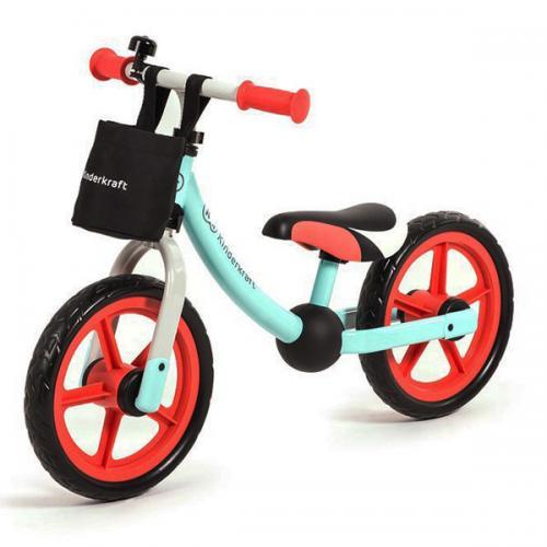 Bicicleta Fara Pedale 2way Next Red - Plimbare bebe - Masinute fara pedale