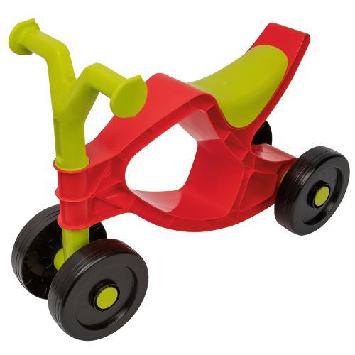 Bicicleta fara pedale Big Flippi red green - Plimbare bebe - Bicicleta copii