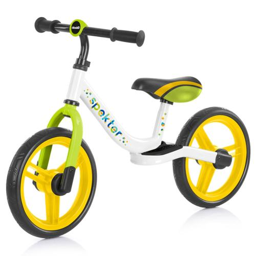Bicicleta fara pedale Chipolino Spekter multicolor - Plimbare bebe - Bicicleta copii