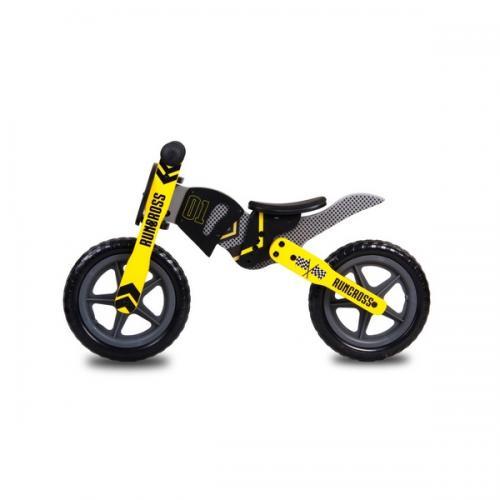 Bicicleta fara pedale din lemn sun baby 005 runcross - Plimbare bebe - Bicicleta copii