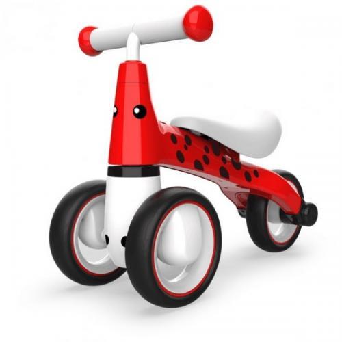 Bicicleta fara pedale ecotoys buburuza lb1603 - rosu - Plimbare bebe - Bicicleta copii