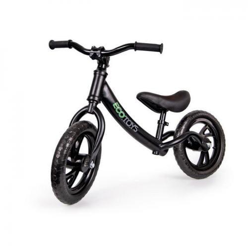 Bicicleta fara pedale ecotoys jm-001 - negru - Plimbare bebe - Bicicleta copii