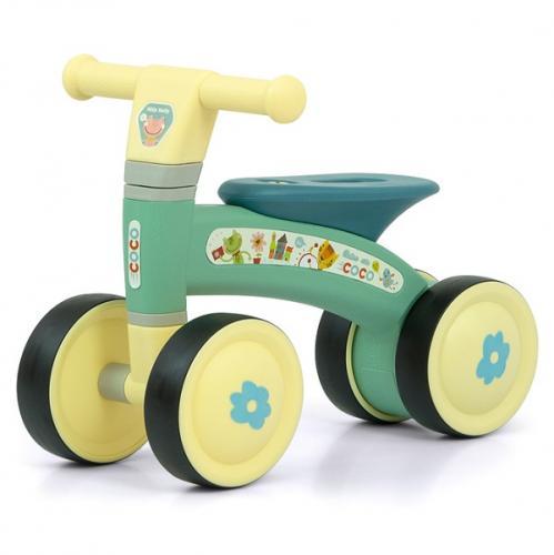Bicicleta fara pedale Ride-On - Coco - Mint - Plimbare bebe - Bicicleta copii
