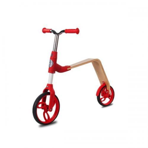 Bicicleta fara pedale/trotineta sun baby 006 evo 360 red - Plimbare bebe - Trotineta