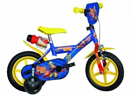 Bicicleta Pompierul Sam 123gl Sip - Plimbare bebe - Bicicleta copii